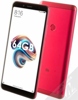 Xiaomi Redmi Note 5 4GB/64GB Global Version CZ LTE + MINI SELFIE TYČKA SETTY v ceně 349KČ ZDARMA červená (red)
