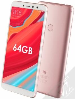 Xiaomi Redmi S2 4GB/64GB Global Version CZ LTE + MINI SELFIE TYČKA Setty Mini Selfie Stick v ceně 349Kč ZDARMA růžově zlatá (rose gold)