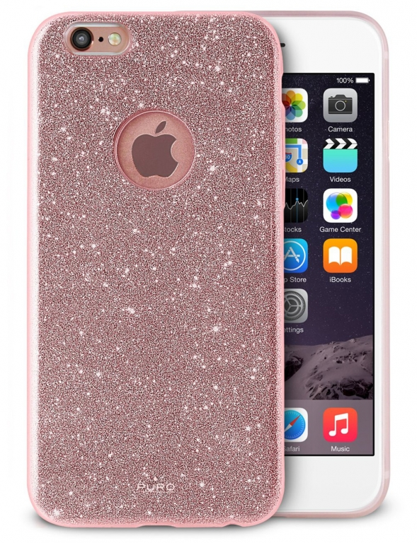 Puro Glitter Shine Cover třpytivý silikonový kryt pro Apple iPhone 6 ... 3e7409e2e9c