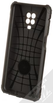 1Mcz Armor odolný ochranný kryt pro Xiaomi Redmi Note 9 Pro, Redmi Note 9 Pro Max, Redmi Note 9S černá (all black) zepředu