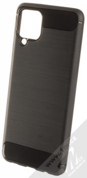 1Mcz Carbon TPU ochranný kryt pro Samsung Galaxy A12 černá (black)