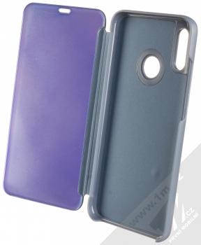 1Mcz Clear View flipové pouzdro pro Huawei P Smart (2019) modrá (blue) otevřené