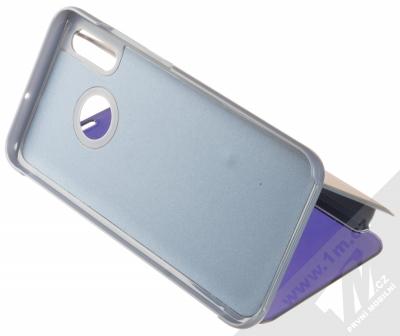 1Mcz Clear View flipové pouzdro pro Huawei P Smart (2019) modrá (blue) stojánek