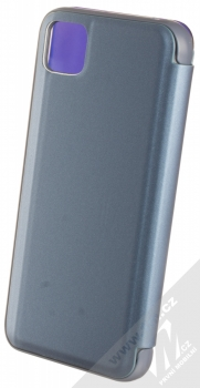 1Mcz Clear View flipové pouzdro pro Huawei Y5p, Honor 9S modrá (blue) zezadu