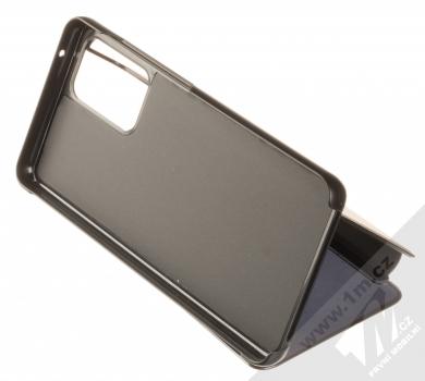 1Mcz Clear View flipové pouzdro pro Samsung Galaxy A52, Galaxy A52 5G černá (black) stojánek