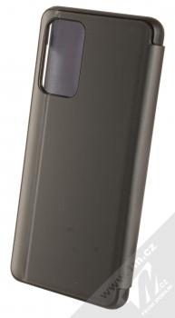 1Mcz Clear View flipové pouzdro pro Samsung Galaxy A52, Galaxy A52 5G černá (black) zezadu