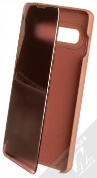 1Mcz Clear View flipové pouzdro pro Samsung Galaxy S10 růžová (pink)