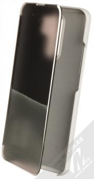 1Mcz Clear View flipové pouzdro pro Xiaomi Redmi 9 stříbrná (silver)