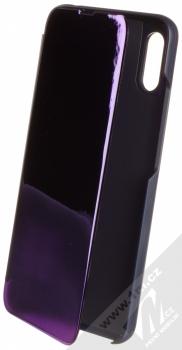 1Mcz Clear View flipové pouzdro pro Xiaomi Redmi 9A, Redmi 9AT fialová (purple)