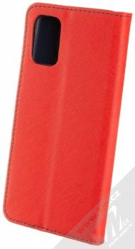 1Mcz Fancy Book flipové pouzdro pro Samsung Galaxy A02s červená modrá (red blue) zezadu