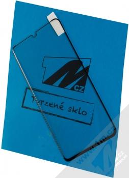 1Mcz Glass 5D Full Glue tvrzené sklo na celou přední stranu pro Huawei P30 Pro černá (black)