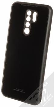 1Mcz Glass Cover ochranný kryt pro Xiaomi Redmi 9 černá (black)