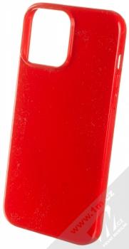 1Mcz Jelly TPU ochranný kryt pro Apple iPhone 13 Pro Max červená (red)