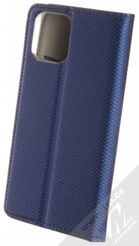1Mcz Magnet Book flipové pouzdro pro Apple iPhone 12 Pro tmavě modrá (dark blue) zezadu