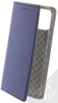1Mcz Magnet Book flipové pouzdro pro Apple iPhone 12 Pro tmavě modrá (dark blue)