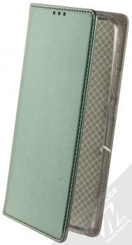 1Mcz Magnetic Book flipové pouzdro pro Xiaomi Redmi 9 tmavě zelená (dark green)