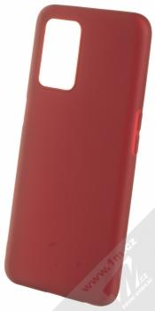 1Mcz Matt TPU ochranný silikonový kryt pro Realme 8 5G tmavě červená (dark red)