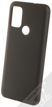 1Mcz Matt TPU ochranný silikonový kryt pro Motorola Moto G10, Moto G10 Power, Moto G20, Moto G30 černá (black)