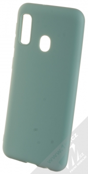 1Mcz Matt TPU ochranný kryt pro Samsung Galaxy A20e modrošedá (gray blue)