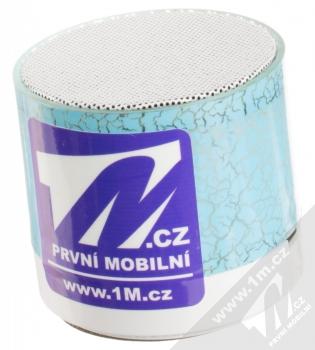 1M.cz Music Mini Speaker Bluetooth reproduktor modrá (blue)
