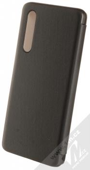 1Mcz Sleep Flip Cover flipové pouzdro pro Huawei P30 černá (black) zezadu