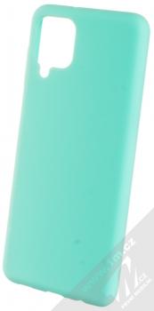 1Mcz Solid TPU ochranný kryt pro Samsung Galaxy A12 mátově zelená (mint green)