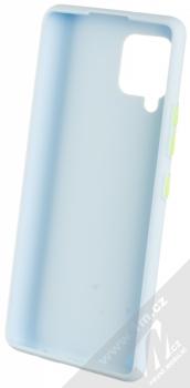 1Mcz Solid TPU ochranný kryt pro Samsung Galaxy A42 5G světle modrá (light blue) zepředu
