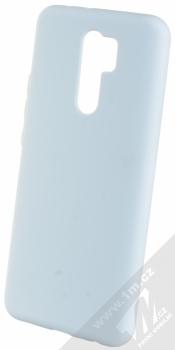 1Mcz Solid TPU ochranný kryt pro Xiaomi Redmi 9 světle modrá (light blue)