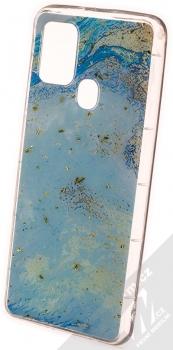 1Mcz Trendy Akvamarín TPU ochranný kryt pro Samsung Galaxy A21s světle modrá (light blue)