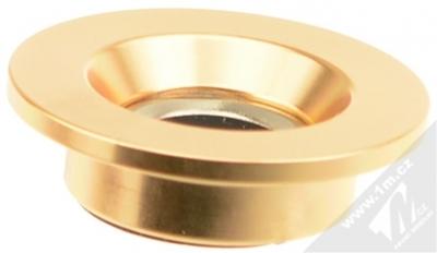 4smarts Ultimag MisterMAG magnetický držák na stěnu do auta, domácnosti zlatá (gold) čepička zezadu