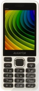 ALIGATOR D940 DUAL SIM bílá (white) zepředu