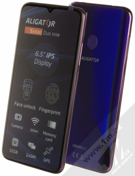 Aligator S6500 Duo 2GB/32GB fialová (purple)
