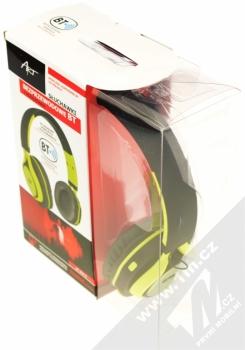 ART AP-B04-C Bluetooth Stereo headset černá limetkově zelená (black lime) krabička