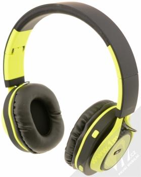ART AP-B04-C Bluetooth Stereo headset černá limetkově zelená (black lime)
