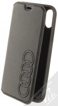 Audi TT Synthetic Leather Folio flipové pouzdro pro Apple iPhone XR (AU-TPUFCIPXR-TT/D1-BK) černá (black)