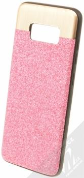 Beeyo Glossy třpytivý ochranný kryt pro Samsung Galaxy S8 růžová (pink)