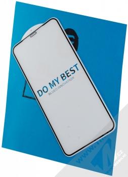 Blueo 5D Mr. Monkey Strong HD Tempered Glass ochranné tvrzené sklo na kompletní displej pro Apple iPhone XS Max černá (black)