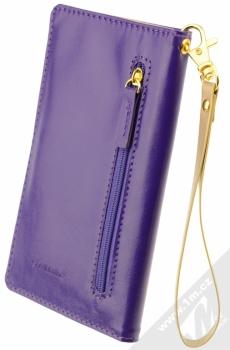 CellularLine Touch Wallet univerzální pouzdro s peneženkou pro mobilní telefon, mobil, smartphone fialová (violet) zezadu