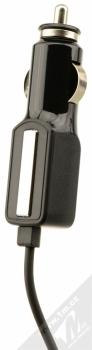 CellularLine Car Charger Ultra nabíječka do auta s USB Type-C konektorem pro mobilní telefon, mobil, smartphone černá (black) nabíječka zepředu