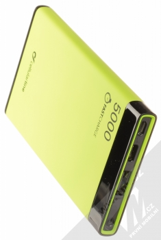 CellularLine FreePower Manta S záložní zdroj 5000mAh limetkově zelená černá (green black) výstupy