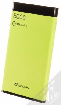 CellularLine FreePower Manta S záložní zdroj 5000mAh limetkově zelená černá (green black)