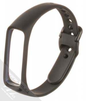 Devia Deluxe Sport Band silikonový pásek na zápěstí pro Samsung Galaxy Fit e černá (black)