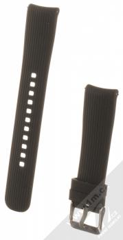 Devia Deluxe Sport Band Straight silikonový pásek na zápěstí s univerzální osičkou 20mm černá (black)