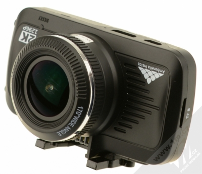 Eltrinex LS500 GPS kamera do auta černá (black) detail kamery zepředu