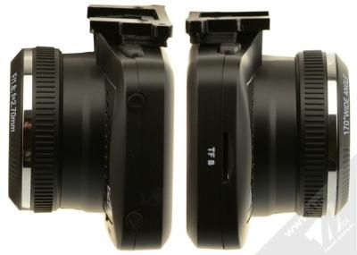Eltrinex LS500 GPS kamera do auta černá (black) zboku