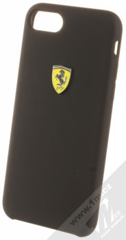 Ferrari Scuderia Silicone ochranný kryt pro Apple iPhone 7, iPhone 8 (FESSIHCI8BK) černá (black)