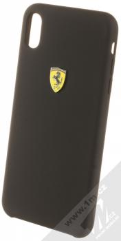 Ferrari Scuderia Silicone ochranný kryt pro Apple iPhone XS Max (FESSIHCI65BK) černá (black)