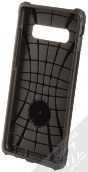 Forcell Armor odolný ochranný kryt pro Samsung Galaxy S10 Plus černá (all black) zepředu
