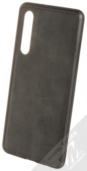 Forcell Denim ochranný kryt v imitaci džínoviny pro Huawei P30 černá (black)