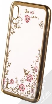 Forcell Diamond TPU ochranný kryt pro Samsung Galaxy M10 zlatá (gold)